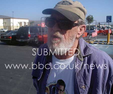 Silas Duane Boston taken in Sacramento in 2012, which he used as his Facebook profile picture. He was 71 by then, and 34 years had passed since he had murdered Chris and Peta.